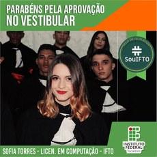 Egressa do Campus Porto Nacional