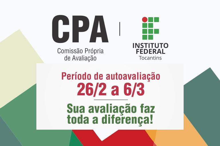 Avaliação da CPA no período de 26 de fevereiro a 6 de março de 2019