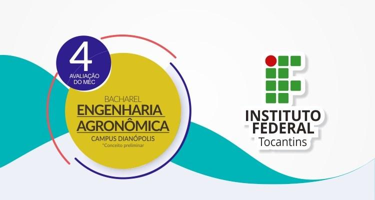 Curso do Campus Dianópolis conquista conceito 4 do Ministério da Educação