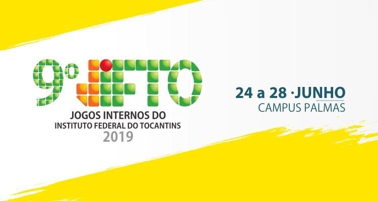 9ª edição dos Jogos Internos do IFTO será realizada entre os dias 24 e 28 de junho