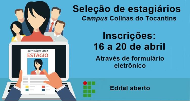 Campus Colinas do Tocantins lança edital