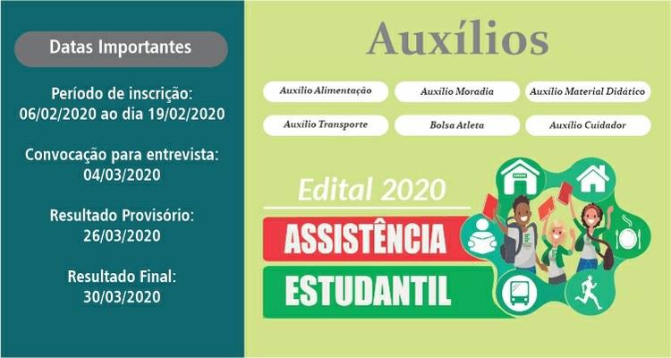 Campus Palmas abre inscrições do Programa Nacional de Assistência Estudantil