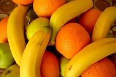 Laranja, banana e tangerina são os itens para aquisição
