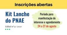 Chamada Kit Lanche - PNAE