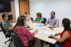 Professores, durante apresentação da proposta dos eventos