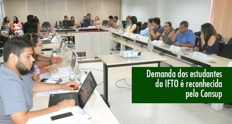 Consup aprova Pró-reitoria de Assuntos Estudantis