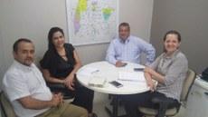 Representantes do IFTO e do Sistema OCB/Sescoop debatem oferta de curso na área do cooperativismo