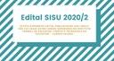 Edital SISU 2020/2