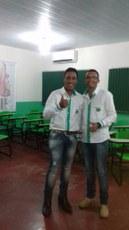 Fernando e Eduardo comemoram aprovação em universidade federal