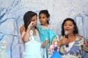 Marinny e sua família se emocionaram com a festa