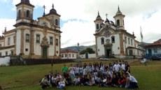 Estudantes conhecem cidades que contam parte da história brasileira