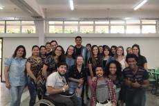 Estudantes de Psicologia da UIbra no IFTO
