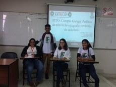 Estudantes do IFTO apresentam trabalhos no Peru