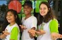 Gláucio Ramos, Stefeny Beatriz e Gabriele Carvalho, todos do Campus Gurupi