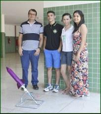 Os estudantes participação de evento nos dias 08 e 09 de novembro, em Barra do Piraí (RJ)