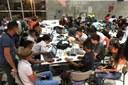 Estudantes de Araguatins no evento