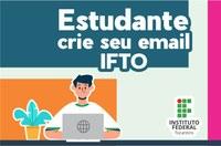 crie seu e-mail do IFTO