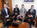 Reunião deputado federal Luiz Nishimori
