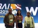 Coordenadora do IFTO, Lucélia Ávila (ao centro), durante o evento