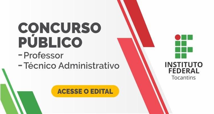 IFTO lança concurso público para professor e técnico administrativo