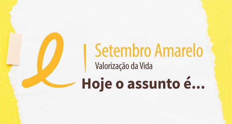 IFTO lembra Setembro Amarelo e lança canal de orientação