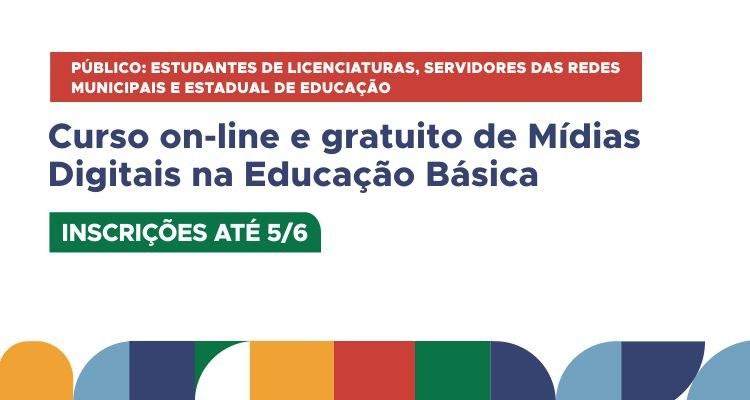 Último dia: IFTO oferta curso gratuito de Mídias Digitais na Educação Básica