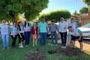 Ação projeto adote um jardim