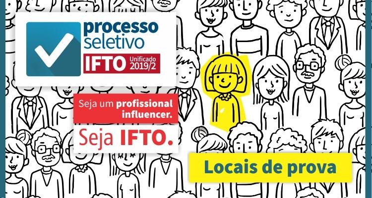 IFTO realiza provas no próximo domingo, 9