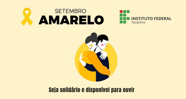 IFTO terá série de vídeos alusivos à campanha Setembro Amarelo