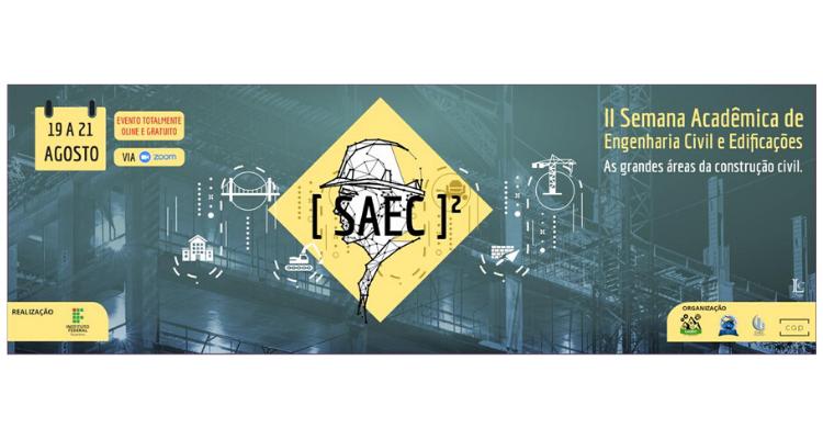 II SAEC de Gurupi acontece em agosto com programação diversificada e 100% online