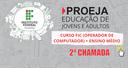 Banner site_Processo Seletivo_Proeja 2018_2ª CHAMADA.png