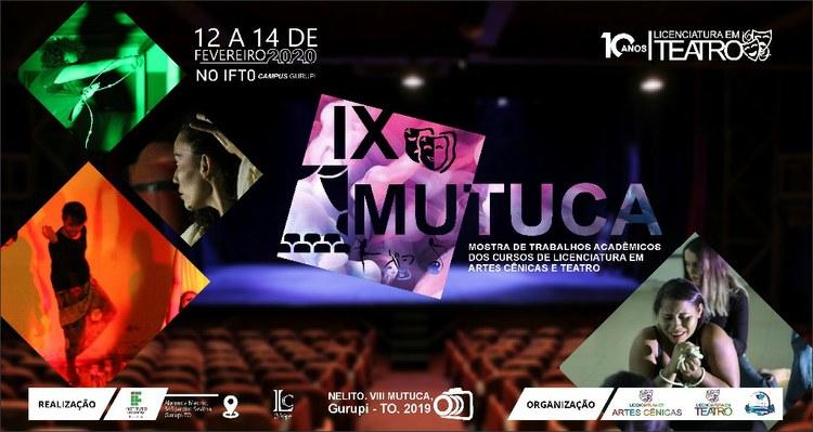 MUTUCA será realizado de 12 a 14 de fevereiro em Gurupi