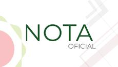Imagem com a logomarca do Conif, com o texto: Nota Oficial. Fim da descrição.