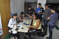 Equipe do PQV realiza ação com servidores e colaboradores da Reitoria