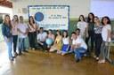 Ação realizada pelos estudantes de Paraíso do Tocantins, sob a supervisão da professora Liliane Garcia