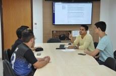 Reunião DAE e entidades estudantis