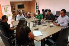 Durante a reunião, foi discutida uma possível parceria entre o IFTO e a Seduc