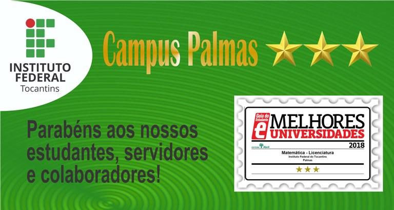 Licenciatura em Matemática conquista três estrelas e recebe selo de qualidade do Guia do Estudante